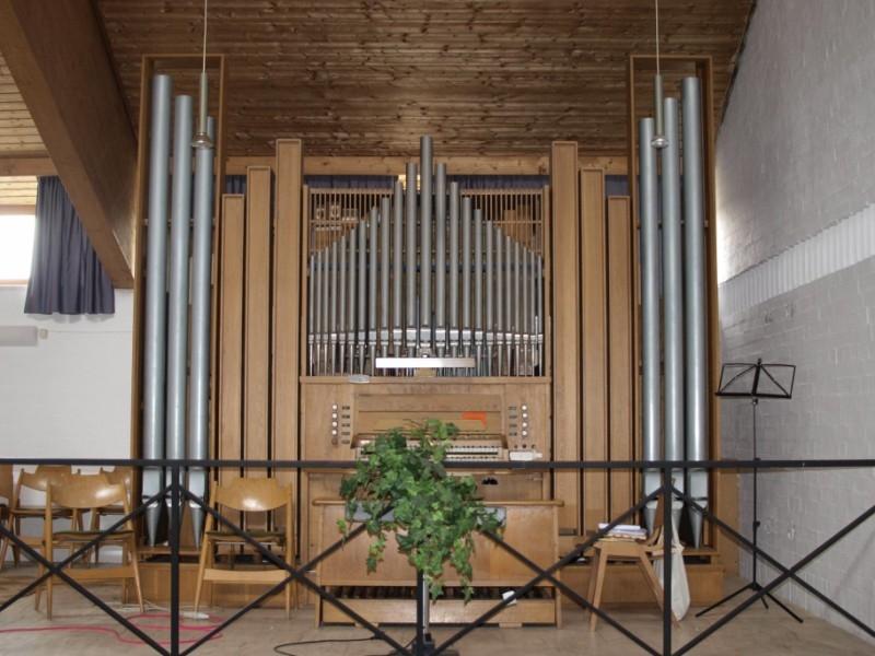 Die Orgel in Simbach