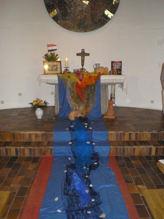 Altar zum Weltgebetstag 2014 in Tann